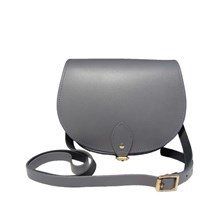 N'damus London Saddle Bag Pencil Grey