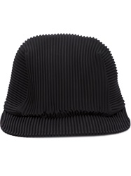Pleats Please By Issey Miyake Pleated Cap Black