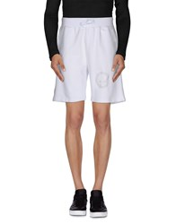 Hydrogen Trousers Bermuda Shorts Men White