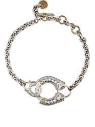 Lanvin Chain Link Choker Colorless