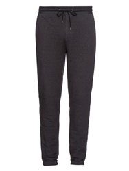 Vince Leather Waistband Knit Track Pants