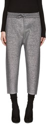 Jil Sander Grey Lurex Lounge Pants