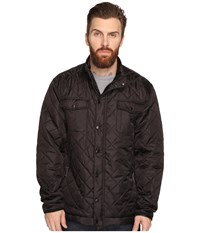 Captain Fin Semi Puff Jacket Black Men's Coat