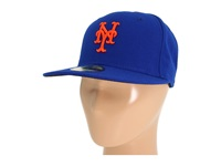 New Era Authentic Collection 59Fifty New York Mets Home Baseball Caps Navy