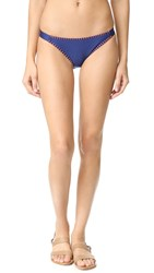 Splendid Stitch Bikini Bottoms Navy