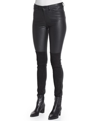 Zadig And Voltaire Pharly Leather Deluxe Pants Noir