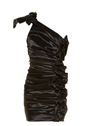 Isabel Marant Nyree One Shoulder Ruched Mini Dress