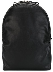 Alexander Mcqueen Skull Head Studded Backpack Black