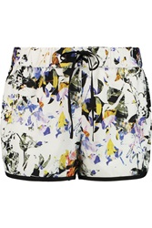 Elizabeth And James Keyla Printed Shell Shorts