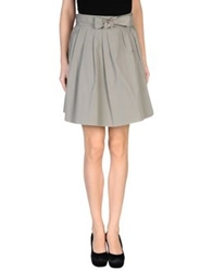 Brian Dales Knee Length Skirts Grey