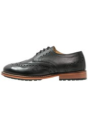 Lyle And Scott Clyde Smart Laceups True Black