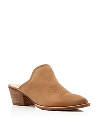 Dolce Vita Shiloh Western Pointed Toe Mules Saddle