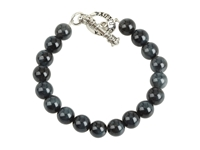 King Baby Studio 10 Mm Tiger Eye Bracelet With Toggle Clasp