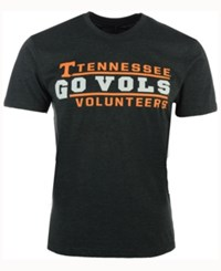 Colosseum Men's Tennessee Volunteers Verbiage Stack T Shirt Charcoal