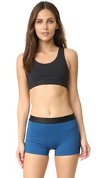 Commando Compression Sports Bra Black