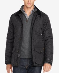 Polo Ralph Lauren Men's Big And Tall Diamond Quilted Jacket Polo Black