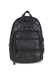 Marc By Marc Jacobs Domo Biker Quilted Leather Backpack