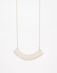 Academy Arc Necklace Ivory