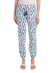 Lilly Pulitzer Printed Piper Pants Blue Multi