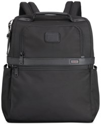 Tumi Alpha Ballistic Travel Slim Solutions Backpack In Black