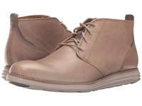 Cole Haan Original Grand Chukka Desert Taupe Leather Cobblestone Men's Shoes Brown