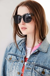 Urban Outfitters Saturday Sleek Square Sunglasses Black