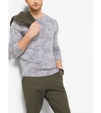 Camouflage Cotton Sweater