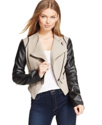 Xoxo Juniors' Colorblock Moto Jacket