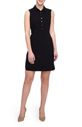 Tahari Women's Sleeveless Shirtdress