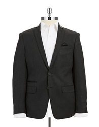 William Rast Two Button Blazer Charcoal