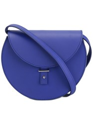 Pb 0110 Flap Round Small Crossbody Bag Blue