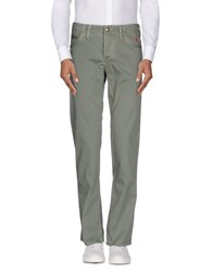 Jaggy Trousers Casual Trousers Men Military Green