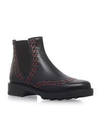 Tod's Gypsy Chelsea Boots Female Black
