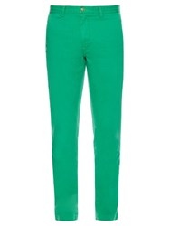 Polo Ralph Lauren Slim Fit Cotton Chino Trousers Green