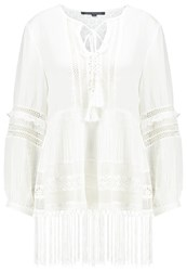 French Connection Blouse Summer White