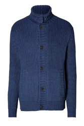 Marc By Marc Jacobs Cotton Indiana Cardigan In Indigo