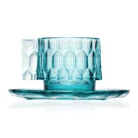 Kartell Jellies Family Cup And Saucer Light Blue