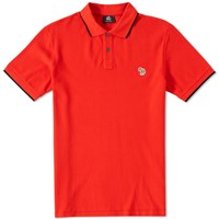 Paul Smith Regular Fit Zebra Polo Red