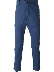 Paul Smith Jeans Slim Fit Chinos Blue