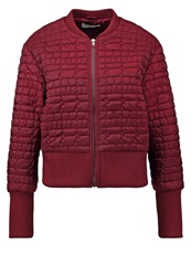 Glamorous Summer Jacket Burgundy Bordeaux