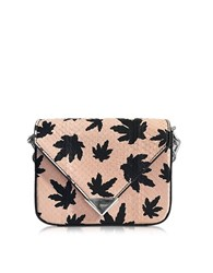 Alexander Wang Mini Prisma Envelope Sling Cameo Pink Elaphe Crossbody Bag Powder Pink