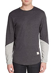 Kinetix Killer Point Thermal Contrast Pullover Charcoal Stone