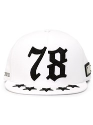 Philipp Plein 'Seventy Eight' Cap White