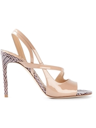 Reed Krakoff 'Academy' Sandals Pink And Purple