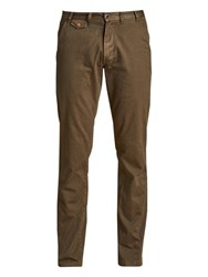 Barbour Essentials Neuston Twill Trousers Willow Green