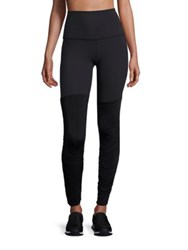 Beyond Yoga Striped High Waist Leggings Black