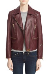 Rag And Bone Women's 'Arrow' Leather Jacket Port