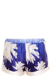 Paul And Joe Palm Shorts Blue
