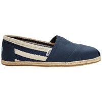 Toms Classic Rope Sole University Espadrilles Navy