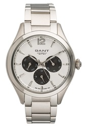 Gant Crawford Watch Silberfarben Silver